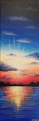 A Bright New Day (10x30 canvas)