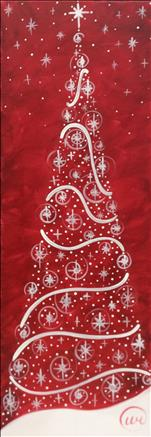 $35 DEAL/Tall Art -ANY Color Twinkle Tree (Adults)