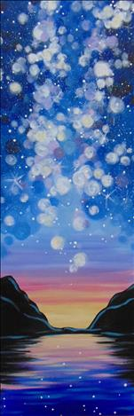 Cosmic Sky *10x30 Canvas*