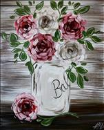 COFFEE & CANVAS: Rustic Blooms