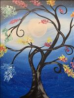 Family Fun - Moonlit Tree