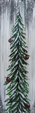 *8x24 Wooden Board* Rustic Tree