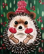 Holly Jolly Hedgehog - ALL AGES!