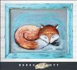 SCREEN Art Rebeca Flott - My Friend Fox
