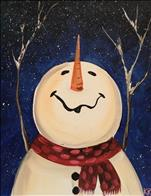 Happy Flurries (on canvas)
