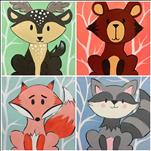 Woodland Animals - Choose Your Animal! (All Ages)