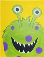 Googley-Eyed Monster (Ages 5+)