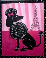 Poodle in Paris!