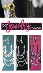 DIY Jewelry Holder on a 10x30 Canvas