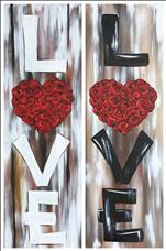The Sign of Love - Set 10x30