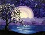 **New Art**  Lake Moonrise!