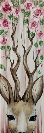 *NEW 10x30* Rustic Spring - Deer - $5 OFF!