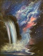 Cosmic Waterfall, Step by step Instructions!