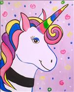 *BLACK LIGHT FAMILY CLASS* Party Unicorn!