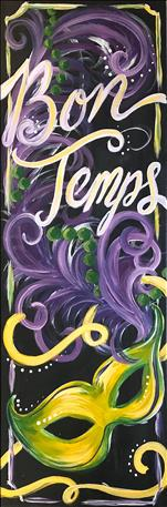 Bon Temps / 10 X 30 Size Canvas