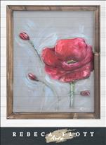 Rebeca Flott Arts - Popping Poppy!