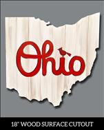 Ohio Cardinal Cutout***Adults Only
