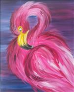 COFFEE & CANVAS: Fancy Flamingo: Ages 12+