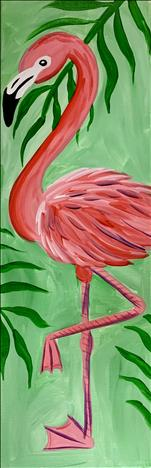 NEW ART!!!! Flamingo Love
