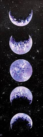 Lunar Love Painting and Metaphysical Readings
