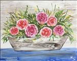 NEW ART: Rustic Flowerbox