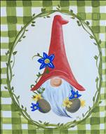 Springtime Gnome (Pick Your Border Color!)