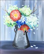 Bucket of Blooms - New ART!