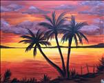 Copper Palm Sunset