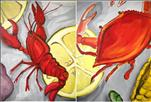 Crab and Crawfish-Choose your side!