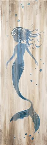 Wood Pallet Class! Rustic Mermaid Pallet