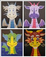 KIDS' ART LESSON ~ Dragon Afternoon