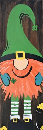 NEW ART: St Patrick's day is next week:Lucky Gnome