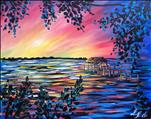 Indian River Sunset 3 hr painting  only $35