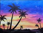 NEW Art: Tropical Sunset