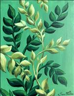 Art in the Afternoon: Green Leaves