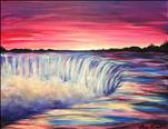 **MANIC MONDAY** Sunset over the Waterfall