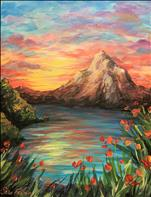Beautiful Sunset only $35, 3 hr painting.