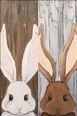 NEW! Rustic Spring Bunnies (Pick 1 to Paint!)