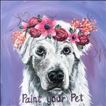 Paint Your Pet: 12x12 Canvas Version