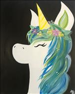 Flower Crown Unicorn - ALL AGES!