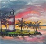Mount Dora Lighthouse 3, 12x12 canvas
