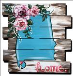 Pick your State! Rustic Pallet Love! 21+