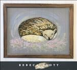Rebeca Flott Arts - Cozy Hedgehog