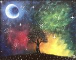 Teen Friendly! Cosmic Tree, NEW ART!