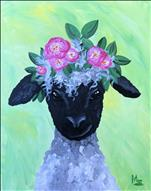 Flower Crown Lamb