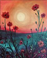 COFFEE & CANVAS: Sunny Days Poppies