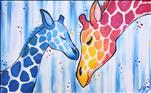 Mommy and Me Giraffes Set. For Valentine's Day!