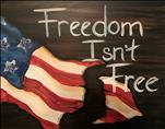 NEW ART: Freedom Isn't Free