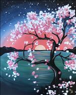*NEW* - Cherry Blossom Sunset - Family Friendly