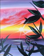 *NEW* - Vibrant Tropical Sunset 2